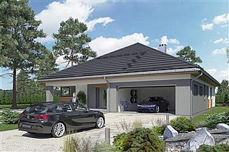 Projekt domu Kordian Atu - murowana – beton komórkowy