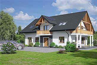 Projekt domu Milicz 53m