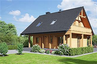 Projekt domu Świdnica mała dw 43