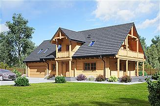 Projekt domu Milicz 16 dw
