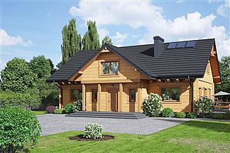 Projekt domu Chmielów dw 29