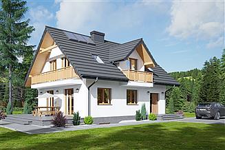 Projekt domu Ścinawka 9m