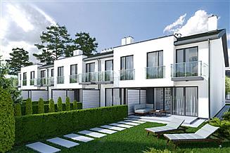 Projekt domu Kordian segment prawy