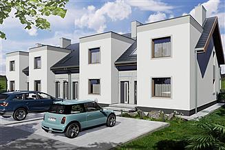Projekt domu Paweł i Gaweł 2B LSSLLL