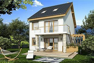 Projekt domu Paweł i Gaweł A