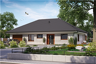 Projekt domu KA14 SZ
