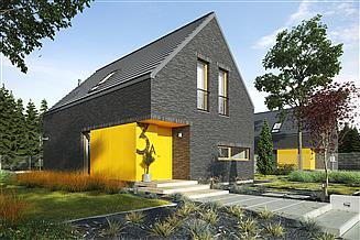 Projekt domu Zgrabny 1