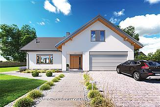 Projekt domu Murator C374c Szafranowy - wariant III