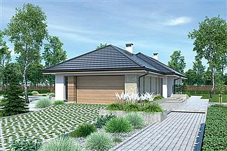 Projekt domu Murator M230e Zachodzące słońce - wariant V