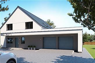 Projekt domu uA133