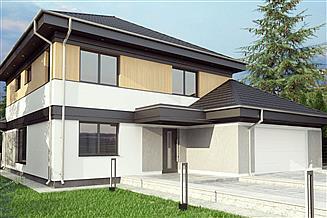 Projekt domu uA41v1
