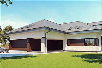 Projekt domu uA130