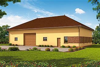 Projekt budynku gospodarczego G236 budynek gospodarczy