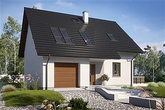 Projekt domu N21-G1