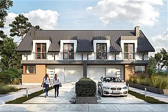 Projekt domu Miłosz Duolit - murowana – beton komórkowy