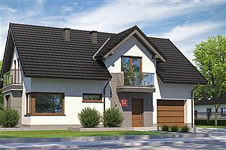 Projekt domu Dom przy Alabastrowej 52