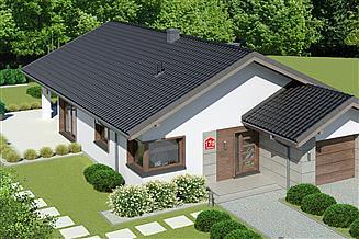 Projekt domu Dom przy Pastelowej 17 D