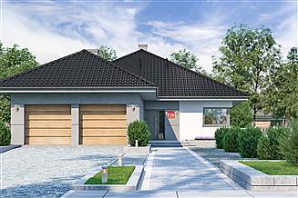 Projekt domu Dom przy Pastelowej 11 bis
