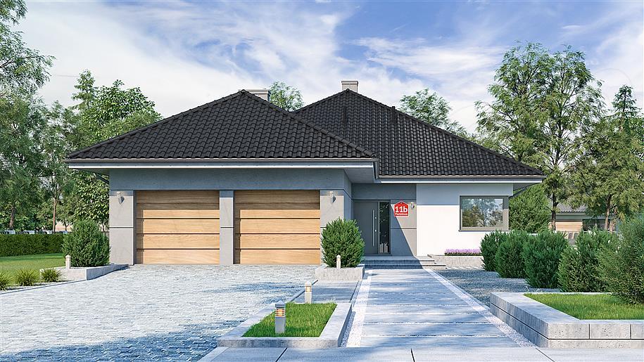 Zdjęcie projektu Dom przy Pastelowej 11 bis KRK1572