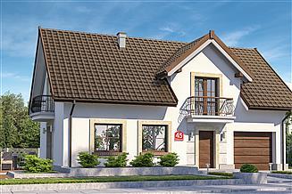 Projekt domu Dom przy Alabastrowej 45
