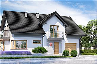 Projekt domu Dom przy Alabastrowej 46