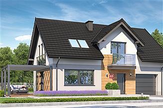 Projekt domu Dom przy Alabastrowej 48