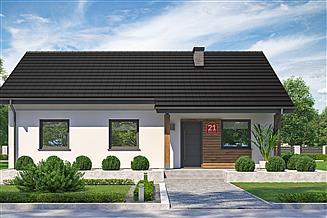 Projekt domu Dom przy Bukowej 21