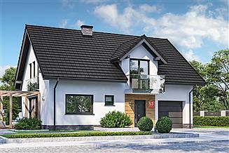 Projekt domu Dom przy Alabastrowej 53