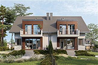 Projekt domu Felicja Duo - murowana – beton komórkowy