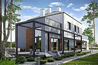 Projekt domu Elastyczny D26 wariant I