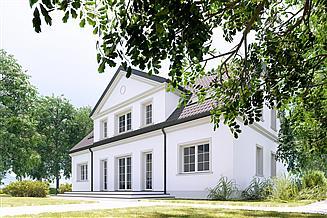 Projekt domu Łubin