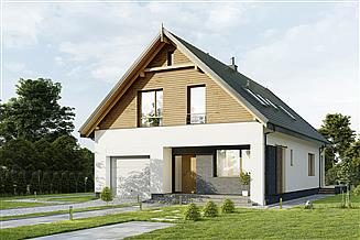 Projekt domu E-255