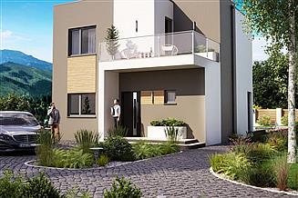 Projekt domu KA96 SZ