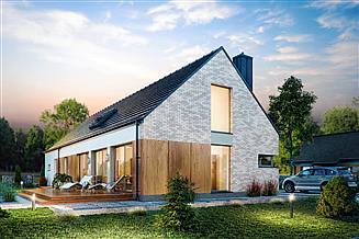 Projekt domu Domena 123 C1