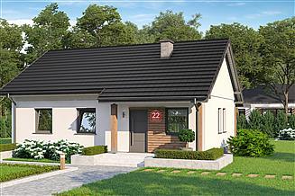 Projekt domu Dom przy Bukowej 22