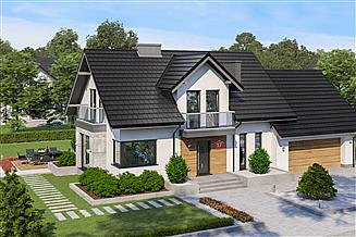 Projekt domu Dom przy Modrzewiowej 17