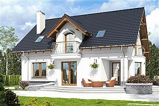 Projekt domu Dom Dla Ciebie 7 bez garażu [B]