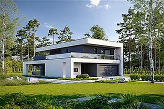 Projekt domu Precyzyjny D59