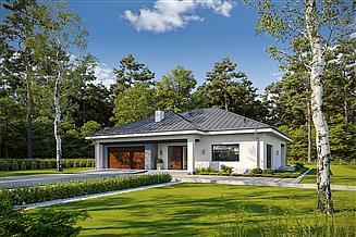 Projekt domu Przystępny D61
