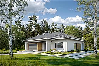 Projekt domu Zgodny D62