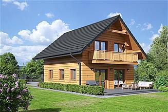 Projekt domu Grochowo nowe 13 dws