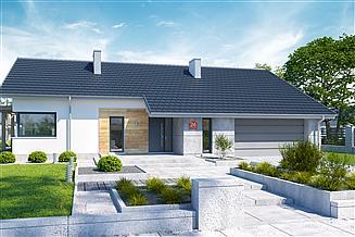 Projekt domu Dom przy Przyjemnej 26 bis
