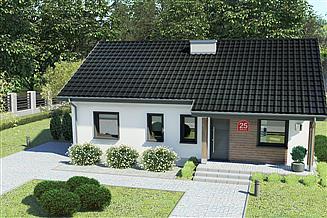Projekt domu Dom przy Bukowej 25