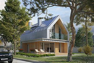 Projekt domu Malutki 3