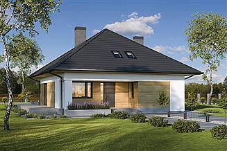 Projekt domu Murator M220 Bez tajemnic (etap I)