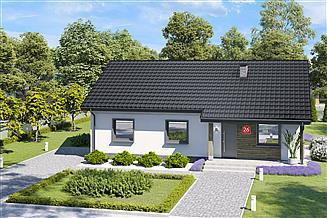 Projekt domu Dom przy Bukowej 26