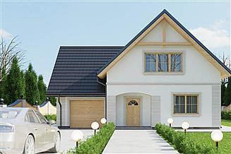 Projekt domu uA132
