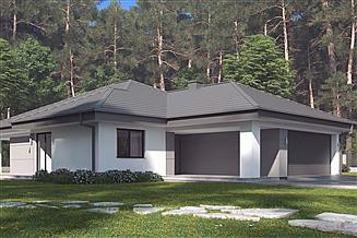Projekt domu uA143