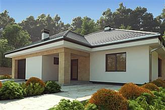 Projekt domu uA135