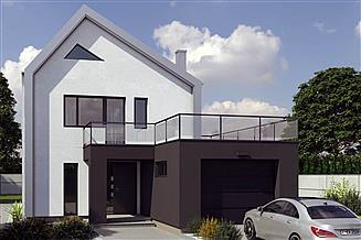 Projekt domu uA86